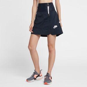 Nike Standard Fit NSW Full Zip Navy Blue Skirt XL